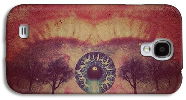 Edit Galaxy S4 Case - eye #dropicomobile #filtermania by Tatyanna Spears