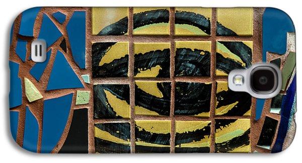 Eye Tile Art Graffiti Galaxy S4 Case by Gary Keesler