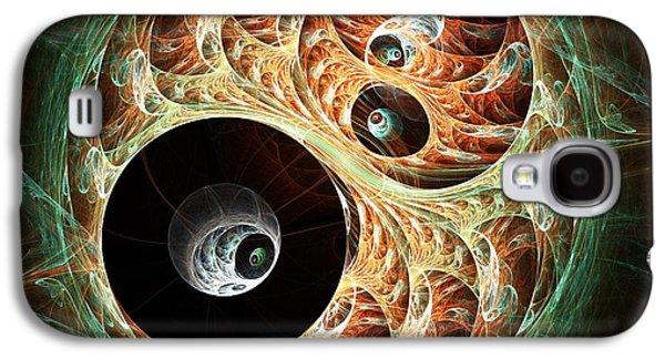 Eyeballs Galaxy S4 Case by Anastasiya Malakhova