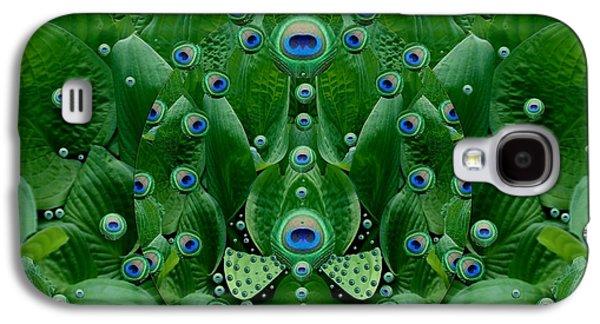Eyes Of The Hidden Peacock Galaxy S4 Case