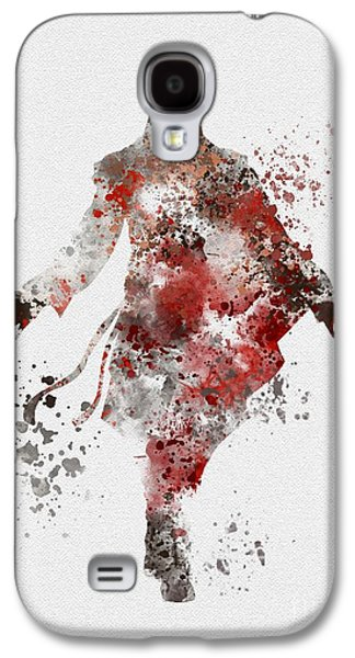 Ezio  Galaxy S4 Case by Rebecca Jenkins