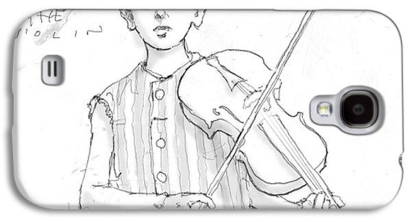 Ezra Plays The Violin Galaxy S4 Case