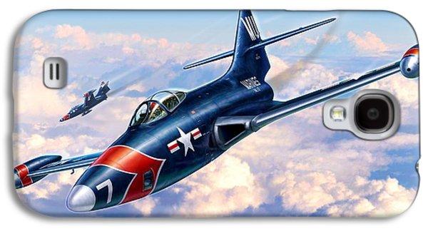 F9f-5p Photo Panthers Galaxy S4 Case