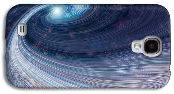 Fabric Of Space Galaxy S4 Case