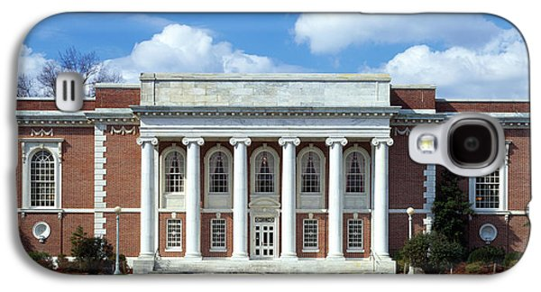 Facade Of A Library, Lilly Library Galaxy S4 Case by Panoramic Images