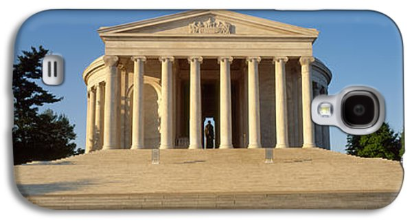 Facade Of A Memorial, Jefferson Galaxy S4 Case by Panoramic Images
