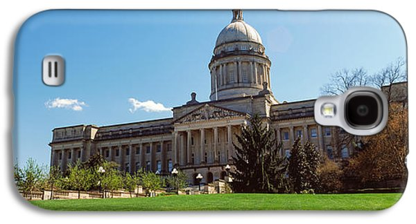 Facade Of State Capitol Building Galaxy S4 Case by Panoramic Images
