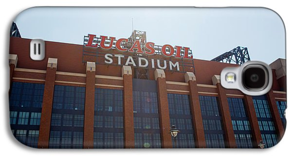 Facade Of The Lucas Oil Stadium Galaxy S4 Case by Panoramic Images
