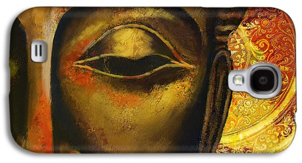 Face Of Buddha  Galaxy S4 Case by Corporate Art Task Force