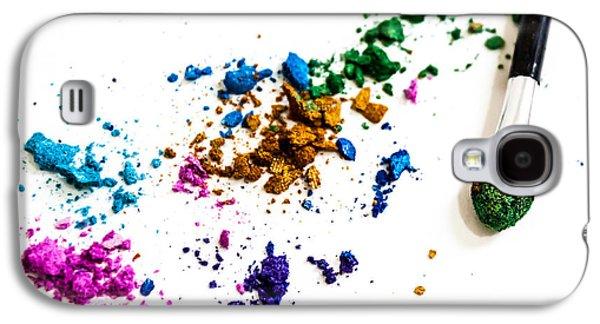 Face Paint Galaxy S4 Case by Elyssa Drivas