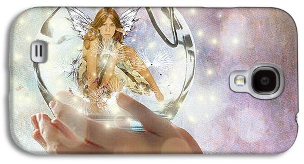 Fairy Galaxy S4 Case by Juli Scalzi