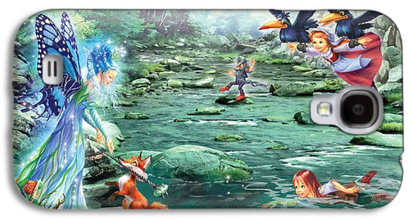 Fairy Stream Galaxy S4 Case by Zorina Baldescu
