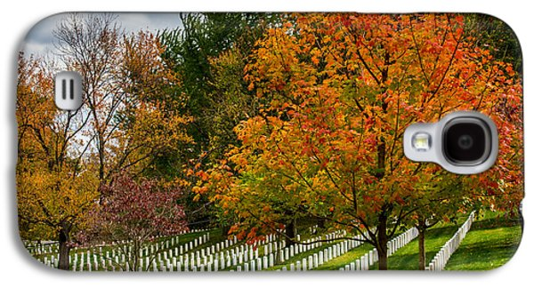 Final Resting Place Galaxy S4 Case - Fall Arlington National Cemetery  by Gary Whitton