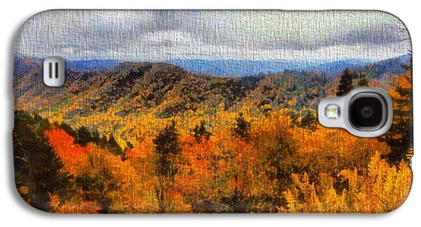 Fall Colors In The Smoky Mountains Galaxy S4 Case