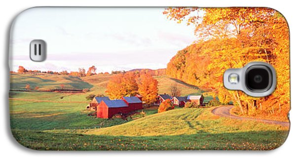Fall Farm Vt Usa Galaxy S4 Case by Panoramic Images