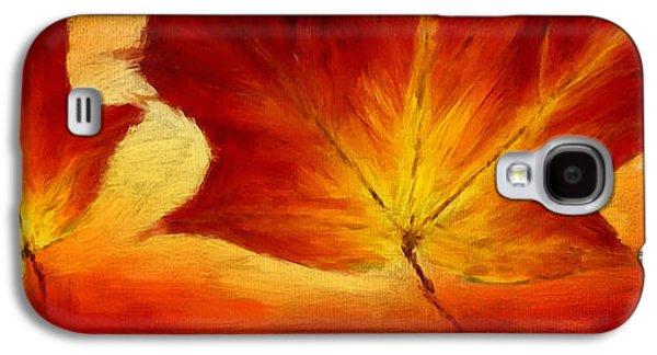 Fall Foliage Galaxy S4 Case by Lourry Legarde
