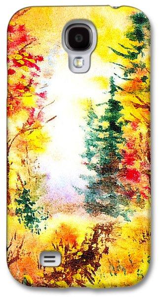Fall Forest Galaxy S4 Case by Irina Sztukowski