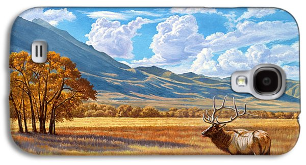 Fall In Paradise Valley Galaxy S4 Case by Paul Krapf