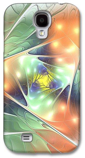 Fall Kaleidoscope Galaxy S4 Case by Anastasiya Malakhova