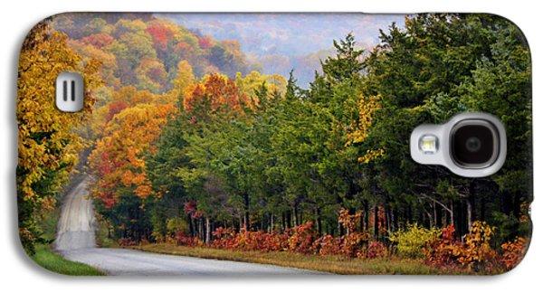 Fall On Fox Hollow Road Galaxy S4 Case