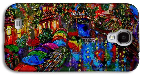 Downtown Galaxy S4 Case - Fall On The Riverwalk by Patti Schermerhorn