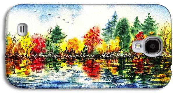 Fall Reflections Galaxy S4 Case by Irina Sztukowski