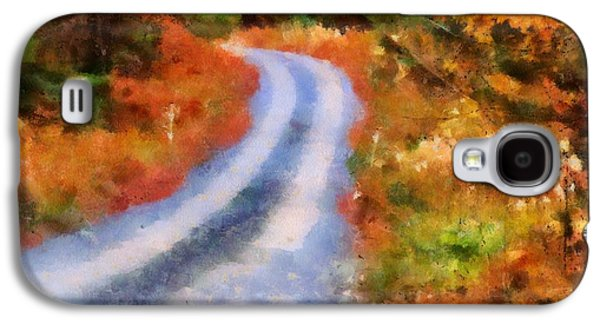 Fall Road To Paradise Galaxy S4 Case