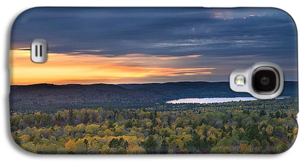 Fall Sunset In Wilderness Galaxy S4 Case
