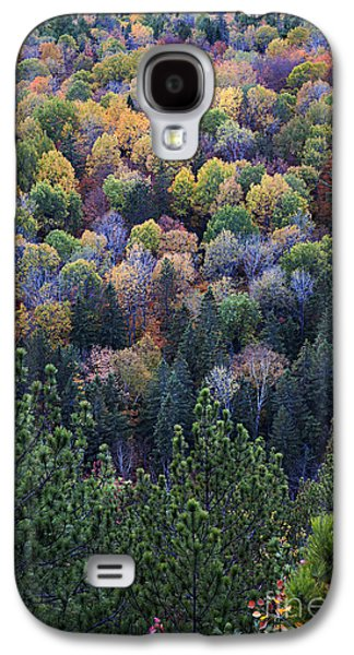 Fall Treetops At Lookout Galaxy S4 Case
