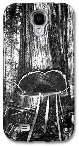 Falling A Giant Sequoia C. 1890 Galaxy S4 Case