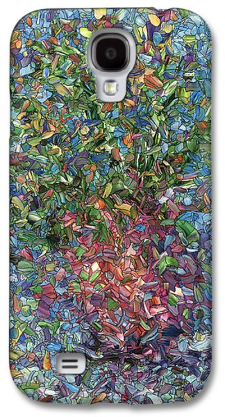 Falling Flowers Galaxy S4 Case