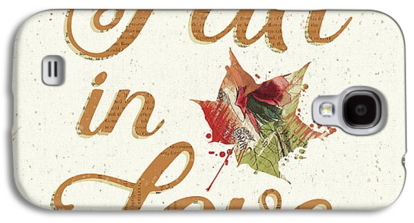 Falling For Fall IIi Galaxy S4 Case by Katie Pertiet