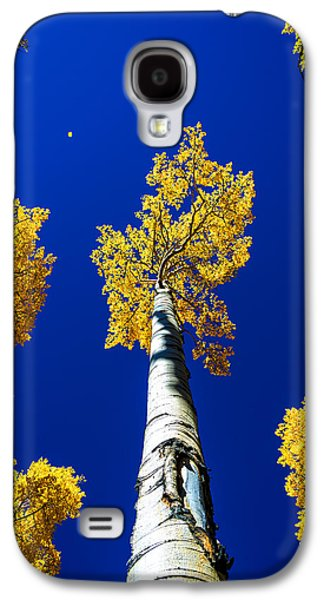 Falling Leaf Galaxy S4 Case by Chad Dutson