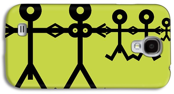 Family Icon Galaxy S4 Case by Thisisnotme
