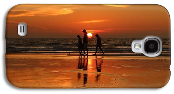 Family Reflections At Sunset - 1 Galaxy S4 Case