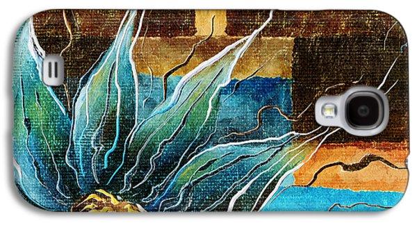 Fantasy Floral Abstract Galaxy S4 Case