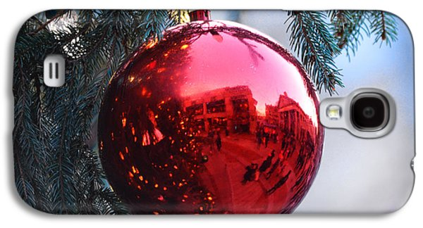 Faneuil Hall Christmas Tree Ornament Galaxy S4 Case by Toby McGuire