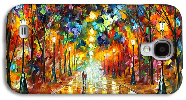 Magician Galaxy S4 Case - Farewell To Anger by Leonid Afremov