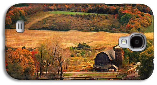 Farm Country Autumn - Sheldon Ny Galaxy S4 Case