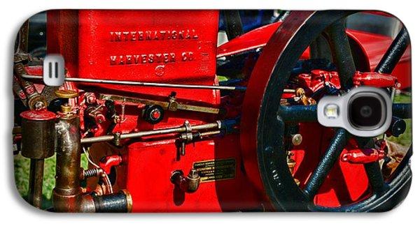 Farm Equipment - International Harvester Feed And Cob Mill Galaxy S4 Case