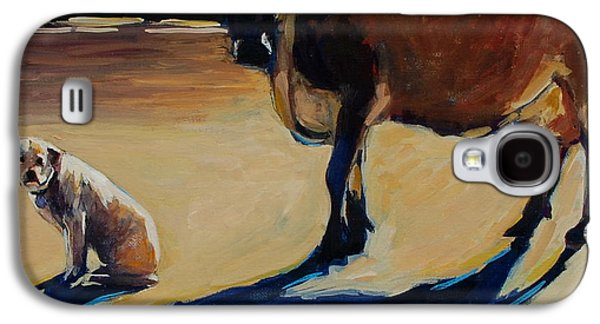 Farm Visit Galaxy S4 Case by Molly Poole
