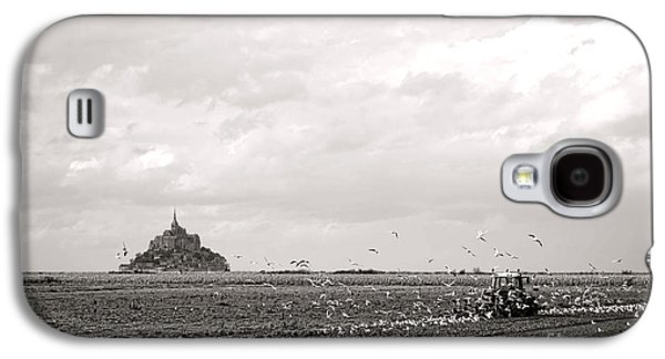 Farm Work At Mont Saint Michel Galaxy S4 Case by Olivier Le Queinec