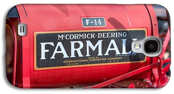 Farmall F-14 Tractor I Galaxy S4 Case by Clarence Holmes