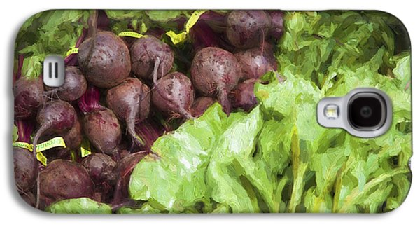 Farmers Market Beets And Greens Galaxy S4 Case by Carol Leigh