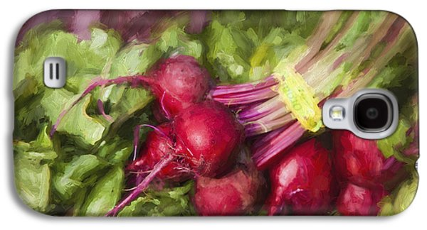 Farmers Market Beets Galaxy S4 Case by Carol Leigh