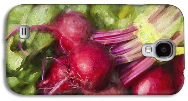 Farmers Market Beets Square Format Galaxy S4 Case by Carol Leigh