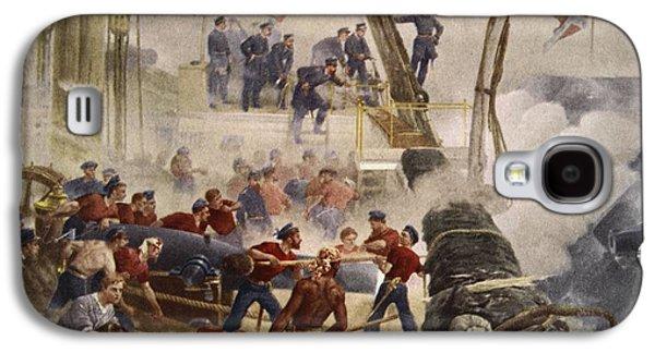 Farragut On The Hartford At Mobile Bay Galaxy S4 Case by Henry Alexander Ogden