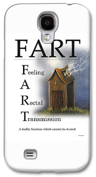 Fart Buseyism By Gary Busey Galaxy S4 Case