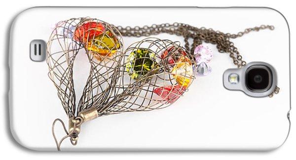 Fashion  Jewelry Galaxy S4 Case by Modern Art Prints