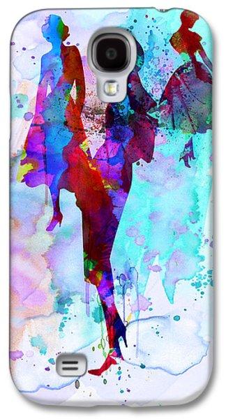 Fashion Models 7 Galaxy S4 Case by Naxart Studio